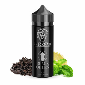 Dampflion Checkmate Black - Longfill Aroma Black Queen