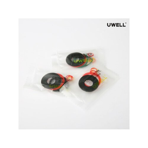 Uwell Crown 4 O-Ringe Set rot