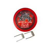 Mad Rabbit Ni80 Three Core Clapton Coil (2 Stück pro...