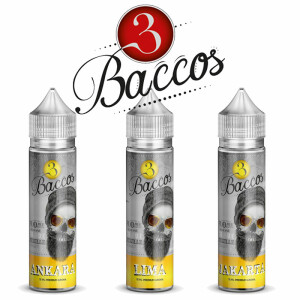 3 Baccos Gold PGVG Labs - Longfill Aromen 15ml