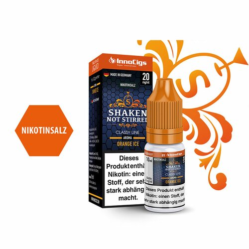 Shaken, not stirred - E-Zigaretten Nikotinsalz Liquid 20mg/ml