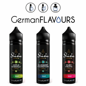 GermanFLAVOURS - Shisha Juice - Longfill Aroma 10ml