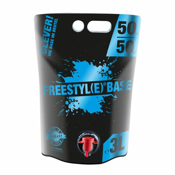 Freestyle Base 0mg/ml - 3 Liter VPG 50/50