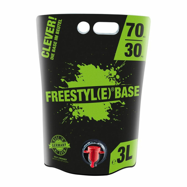 Freestyle Base 0mg/ml - 3 Liter VPG 70/30