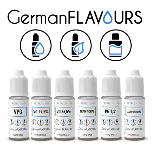GermanFlavours - Nikotin-Shots 18mg (10 x 10ml)