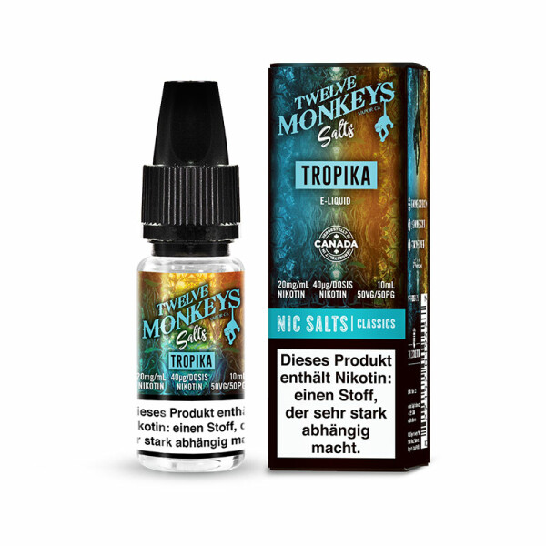 Twelve Monkeys Salts - Nikotinsalz Liquid 10ml
