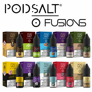 Pod Salt - Fusion - Nikotinsalz Liquid 10ml - 20mg/ml