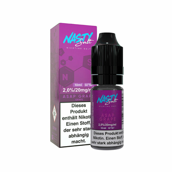 Nasty Juice Nic Salt - Nikotinsalz Liquid 10ml - 20mg/ml -  Asap Grape