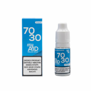 My Aid NicShot - 70/30 20mg 10ml