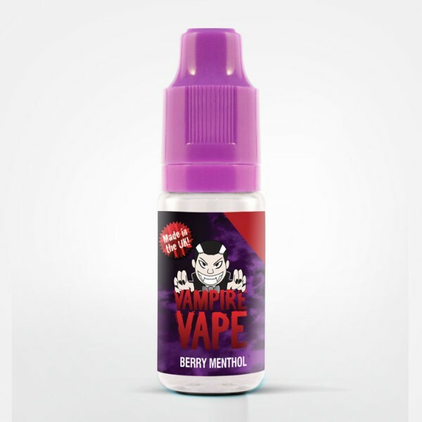Vampire Vape Berry Menthol - E-Zigaretten Liquid 0 mg/ml
