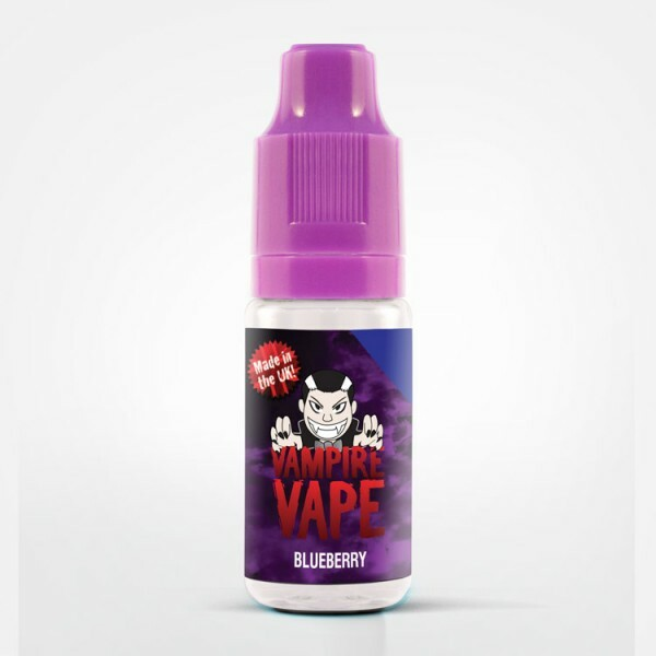 Vampire Vape Blueberry - E-Zigaretten Liquid 12 mg/ml