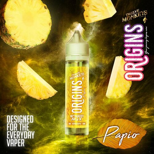 Twelve Monkeys - Origins - Papio - 50ml - 0mg/ml